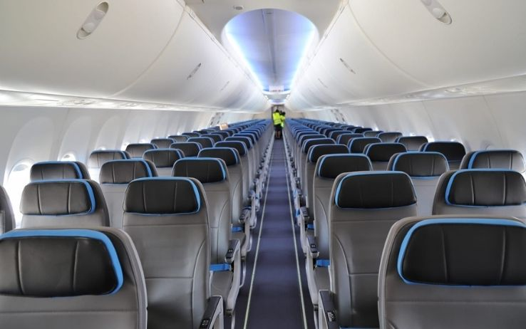 Neos Air - Interno Boeing 737