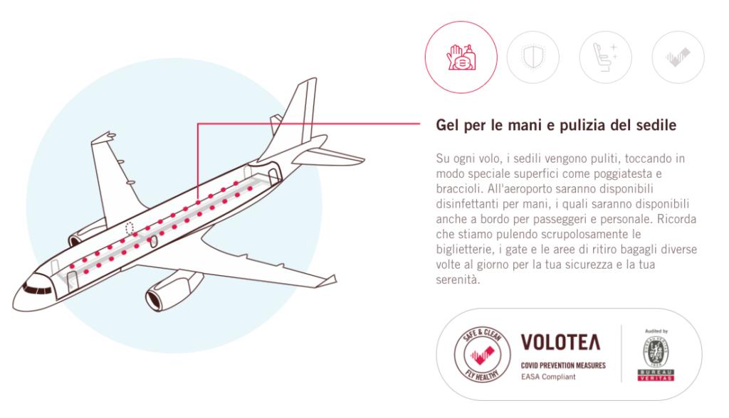 Volotea - Sicurezza Covid-19