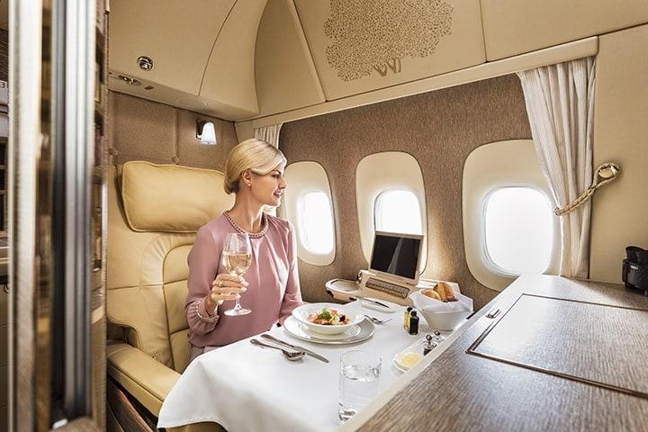 emirates b777 first class