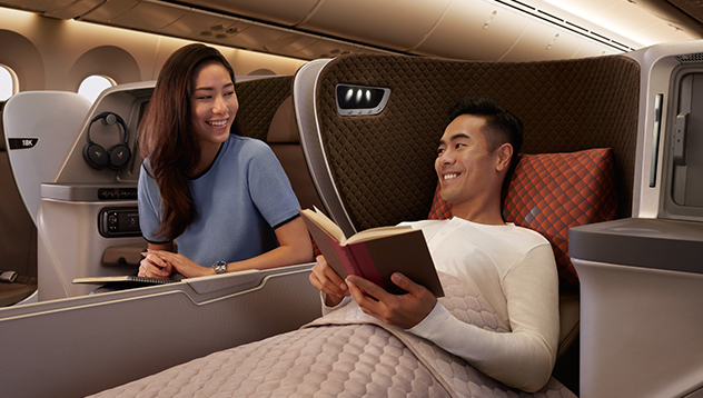 first class singapore