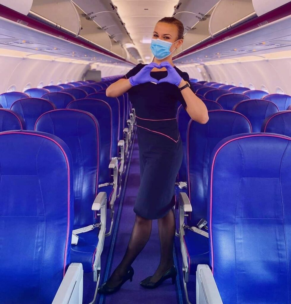 Wizz Air lowcost - Cabina