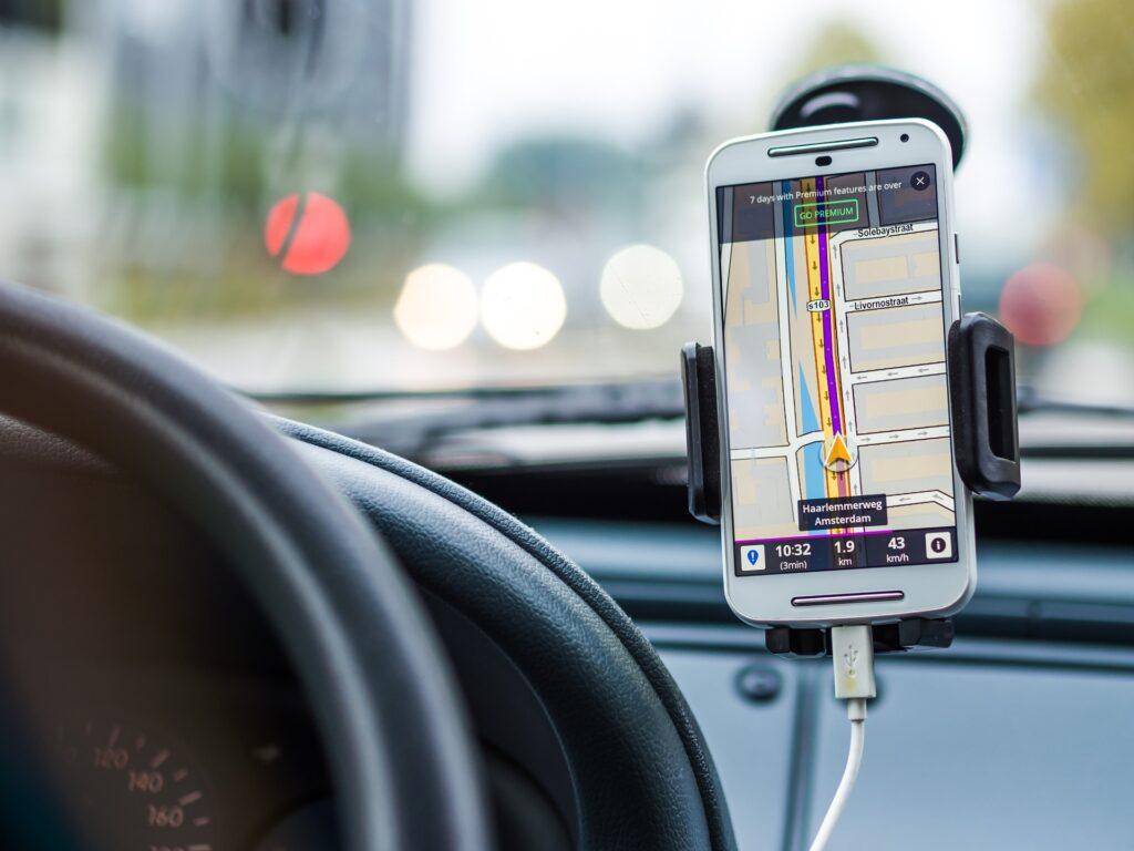 Navigatore smartphone